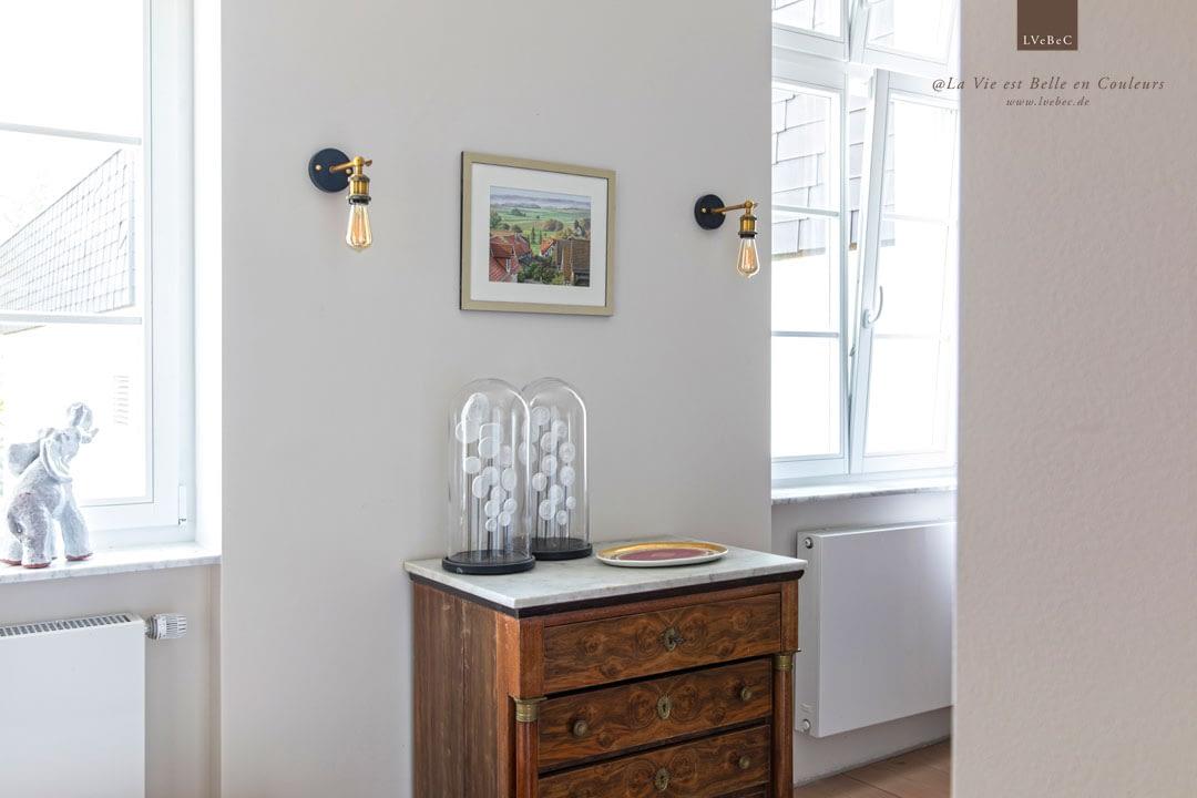 Farbkonzept für ein Schlafzimmer in warmgrey von Ressource Peintures